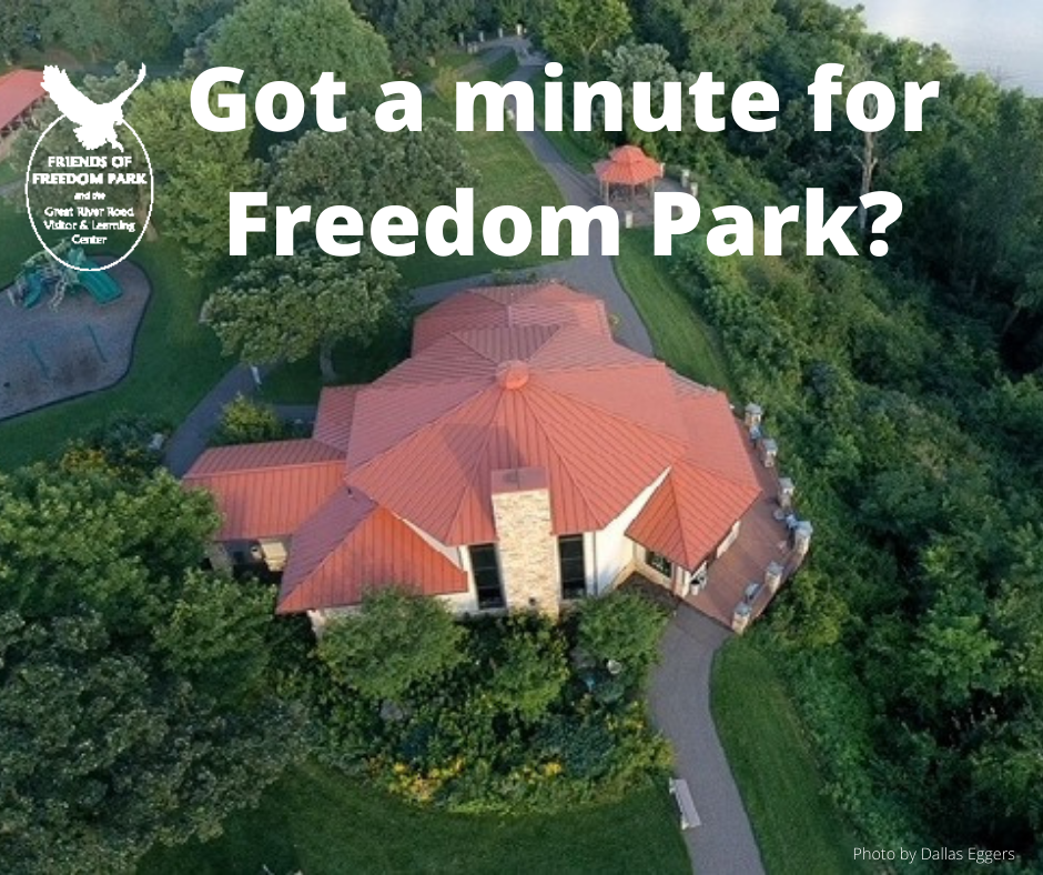 Got a minute for Freedom Park - Survey 2020